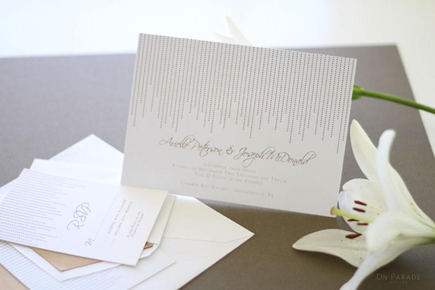 art deco invitation web photo
