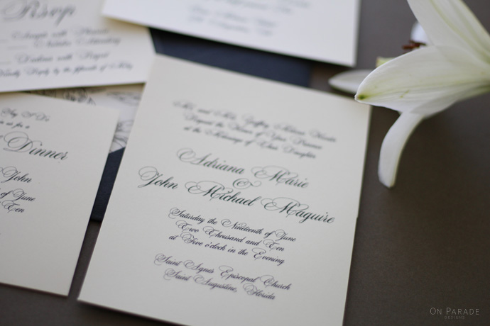 The Jane Suite Invitation