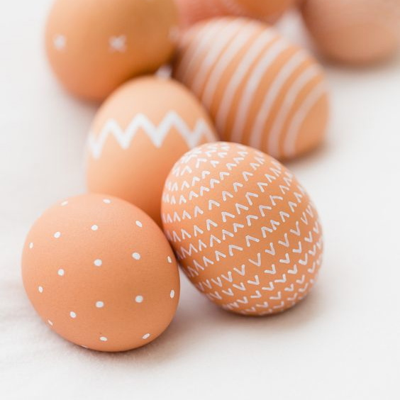 Natural Painted Eggs