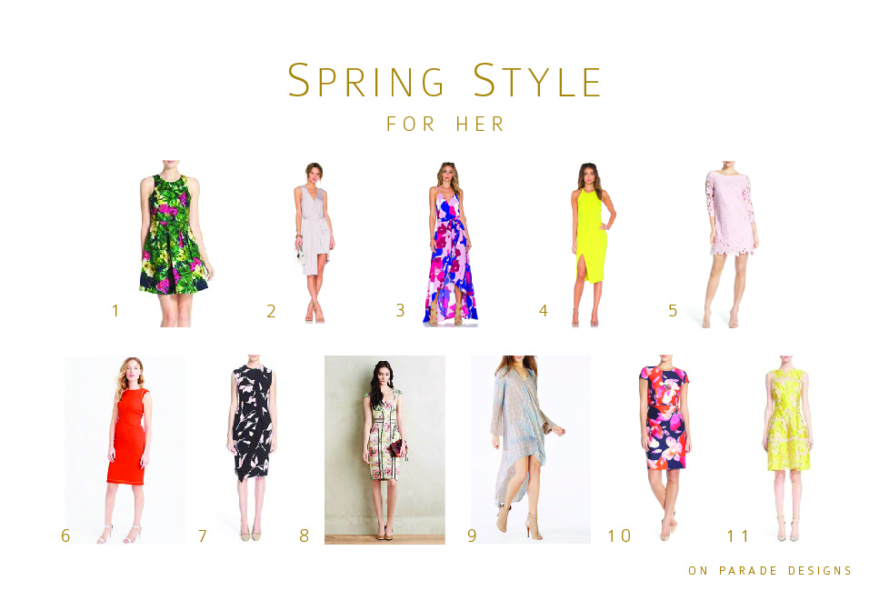 spring style for her