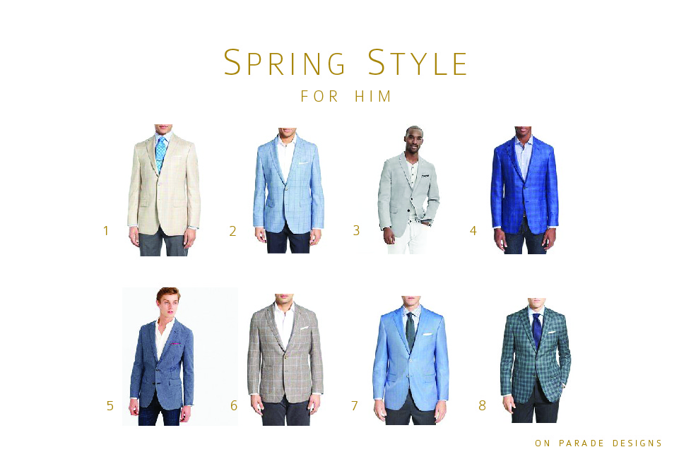 spring style for him