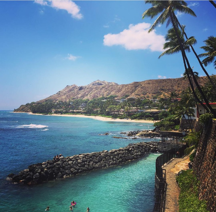 Diamond Head, View from Shangri La