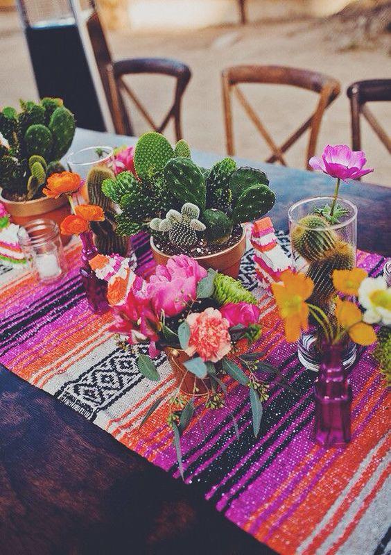 Cactus and Floral arrangement 2