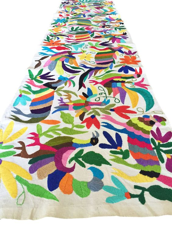 Otomi Table Runner