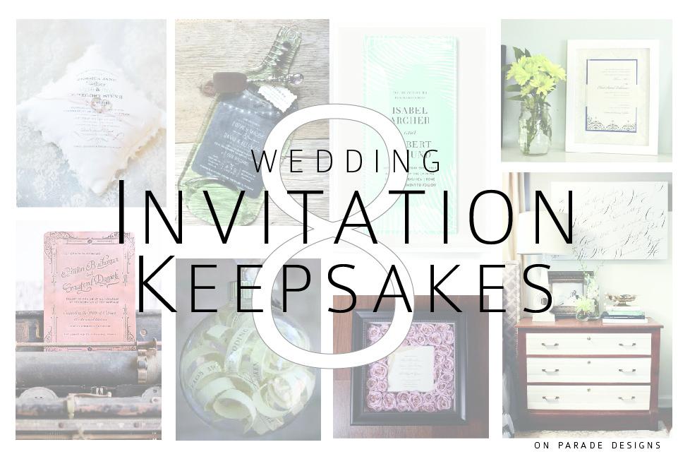 Wedding Invitation Keepsakes 01