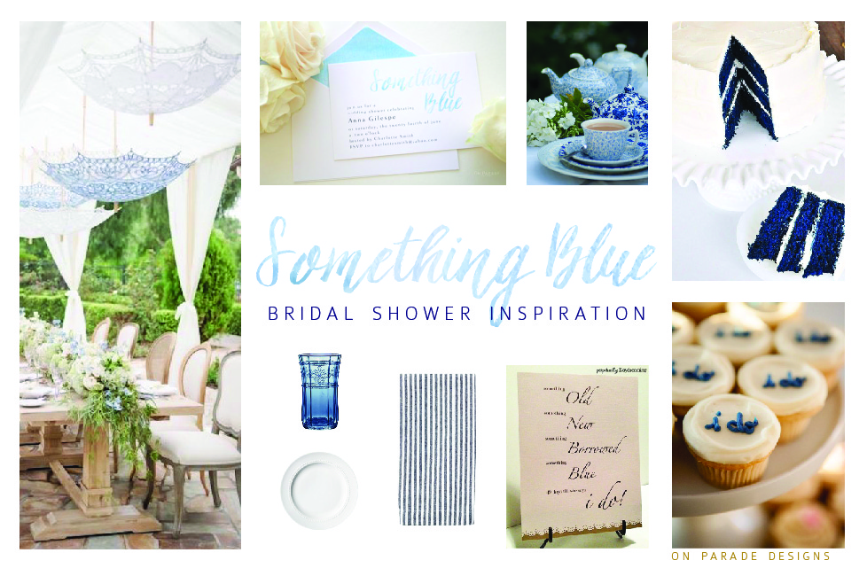 Something Blue Bridal Shower Inspiration